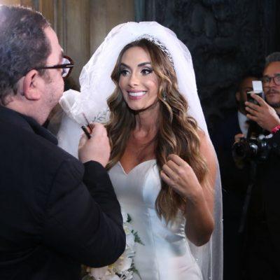 Veja looks de Galisteu e outras no casamento de Nicole Bahls