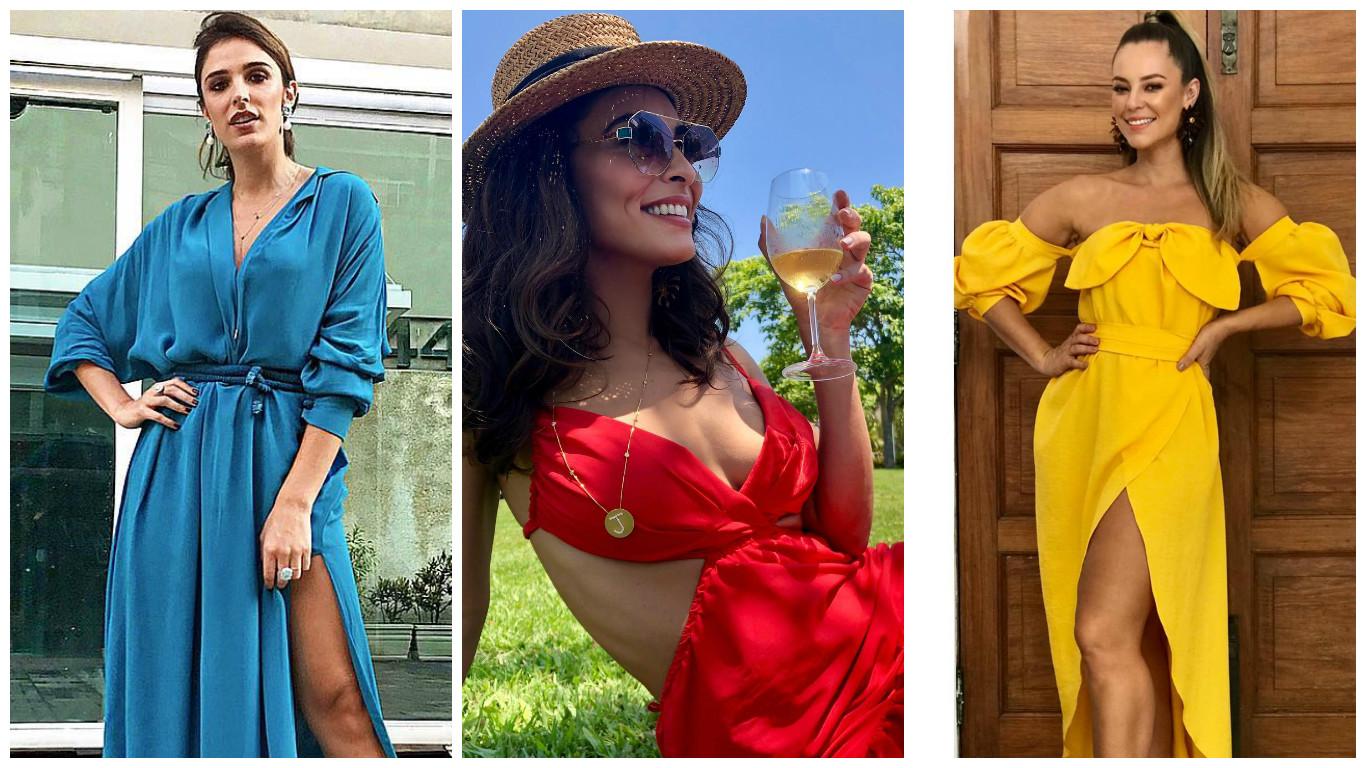 Rafa Brites, Juliana Paes e Paolla Oliveira (Fotos: Reprodução/Instagram)