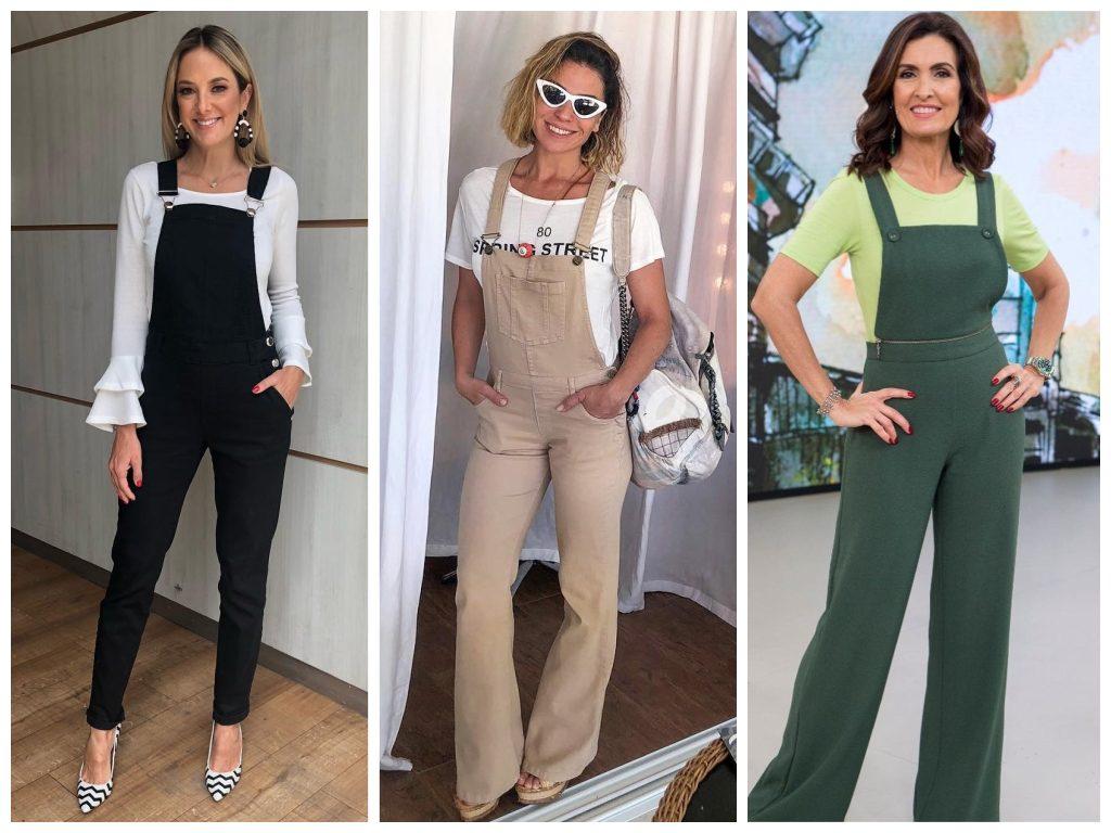 Ticiane Pinheiro, Giovanna Antonelli e Fátima Bernardes (Fotos: Instagram/Reprodução)