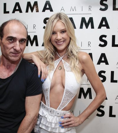 Slama faz desfile beneficente com Gianne Albertoni e Luisa Mell