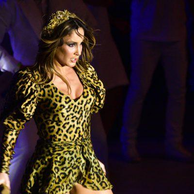 Esquenta de Carnaval: Claudia Leitte vira onça e boxeadora