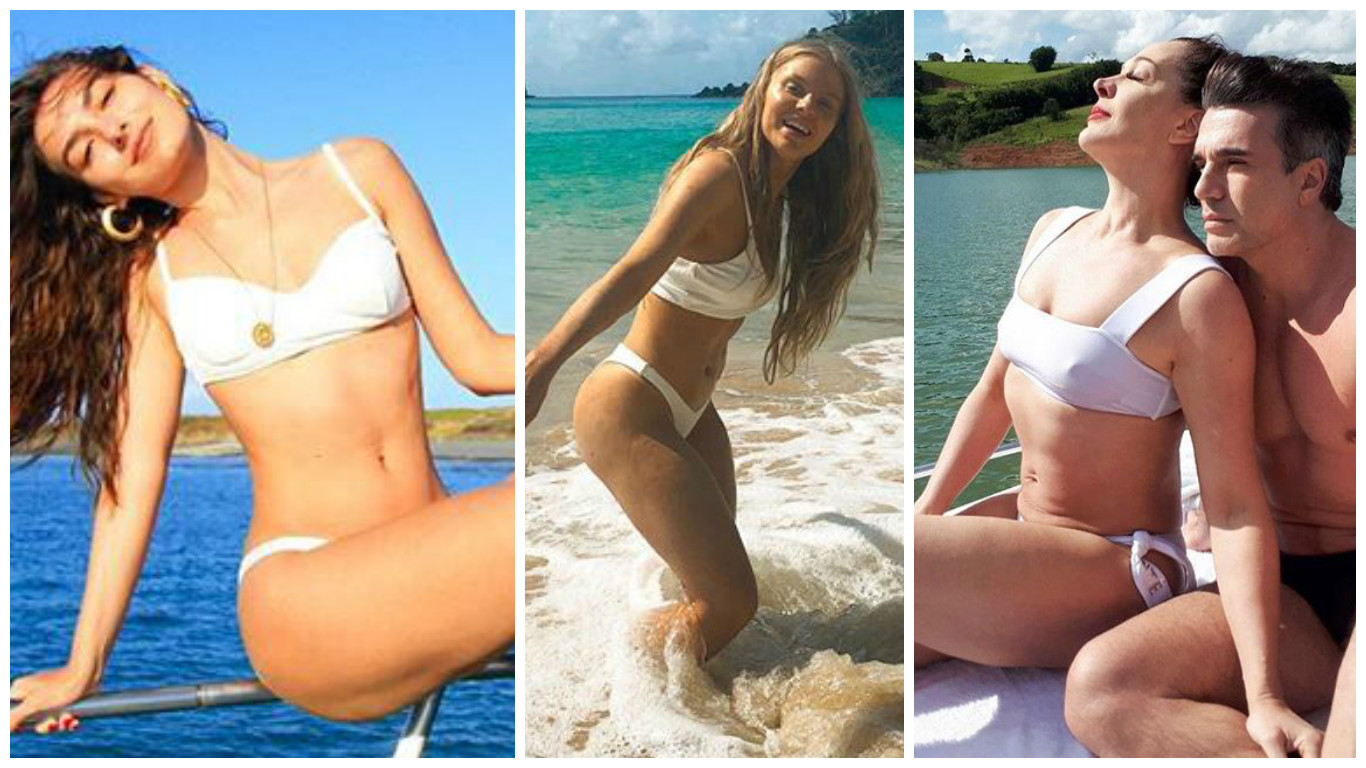 Marina Moschen, Luisa Sonza e Claudia Raia Fotos: Reprodução/Instagram)
