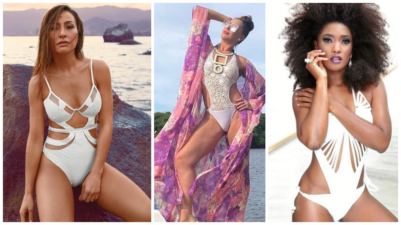 Sabrina Sato, Claudia Raia e Erika Januza Fotos: Divulgação/ Reprodução/Instagram)