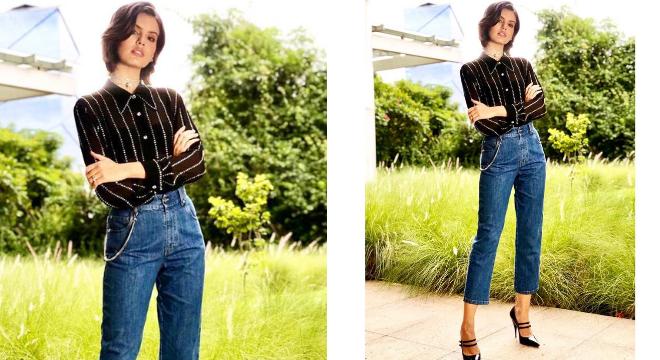Camila Queiroz (Fotos: @julianoezuel/Instagram/Reprodução)