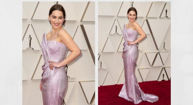 Emilia Clarke (Fotos:E! Entertainment/Divulgação)