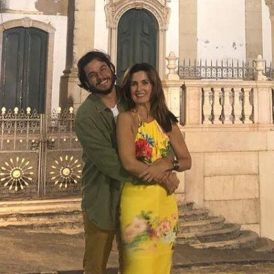 Fátima Bernardes veste look de R$ 322 em viagem com namorado