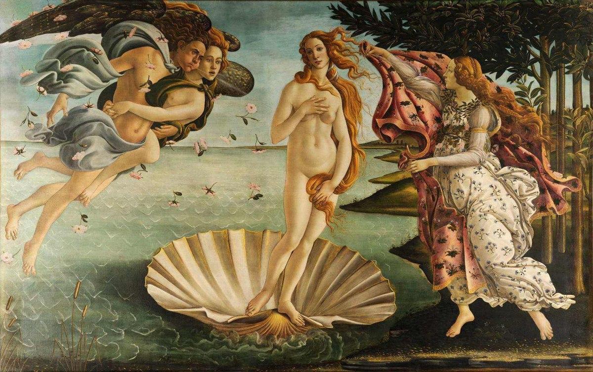 O Nascimento de Vênus (Foto: Reprodução)