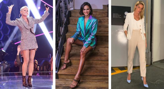 Xuxa, Bruna Marquezine e Ana Hickmann (Fotos: Leo Franco/AgNews/Reprodução/Instagram)