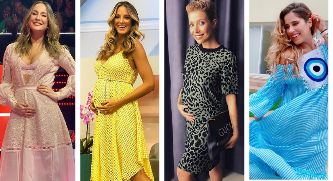 Claudia Leitte, Tici Pinheiro, Luiza Possi e Camilla Camargo (Fotos: Reprodução/Instagram)