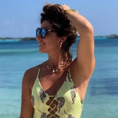 Giovanna Antonelli usa body de R$ 220 com estampa de tigre
