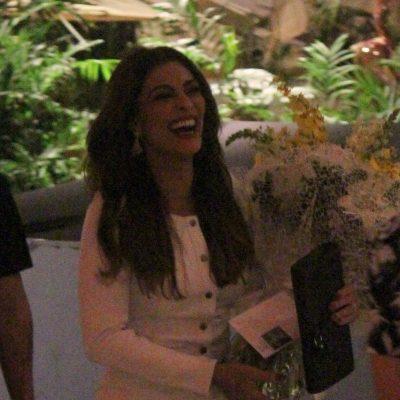 Famosas vestem tendências no aniversário da Juliana Paes
