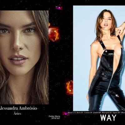Astrologia: agência faz campanha com signo de top models