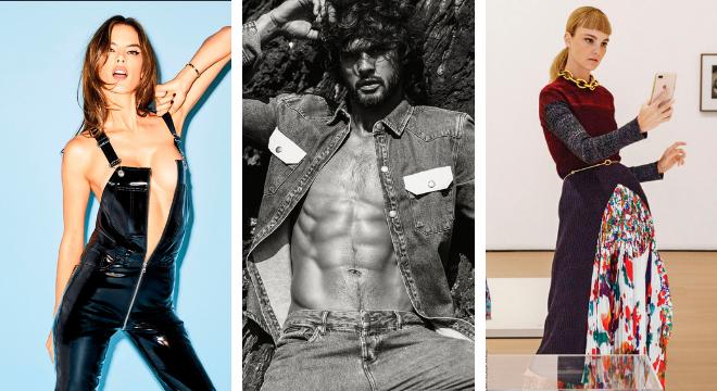 Alessandra Ambrósio, Marlon Teixeira e Carol Trentini (Fotos: Divulgação/Way Models)