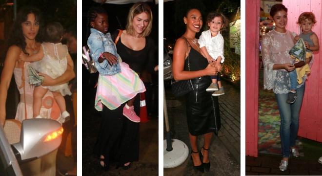 faf9c3f92f9 Famosas na festa de aniversário da filha de Débora Nascimento e José Loreto  (Fotos