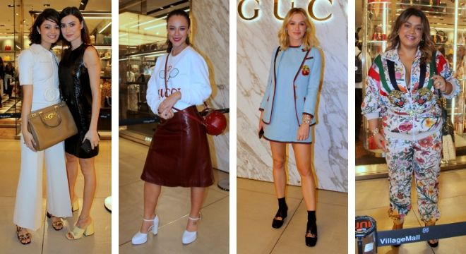 Famosas em evento de moda (Fotos: Jose Humberto/AgNews)