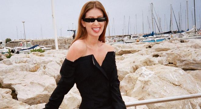 Cannes: Marina Ruy Barbosa usa look diferentão de R$ 17 mil
