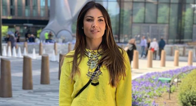 Patricia Poeta prova que amarelo vai além dos looks de verão