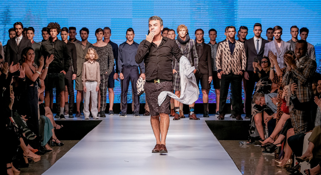 Relax: estilista mineiro propõe bermuda em ternos masculinos