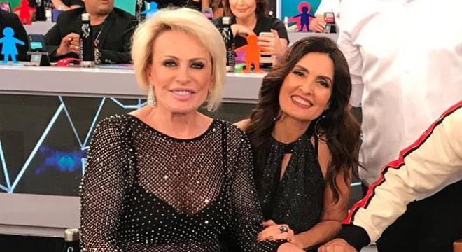 Ana Maria Braga e Fátima Bernardes (Foto: @fatimabernardes/Instagram/Reprodução)