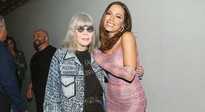 Anitta e Rita Lee (Fotos: @anitta/Instagram/Reprodução)