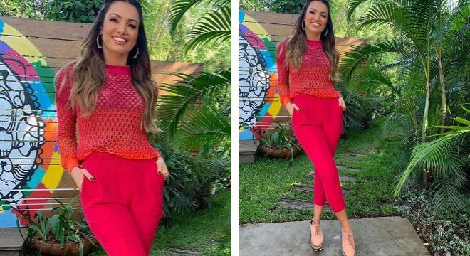 Patricia Poeta (Fotos: @edecasaofficial/Instagram/Reprodução)