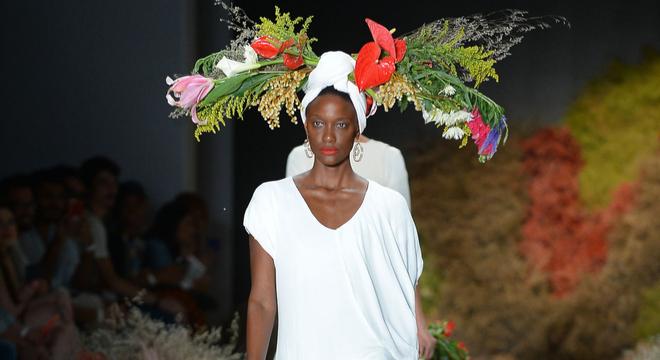 Sutil, estilista de Cabo Verde leva sentimento negro ao SPFW