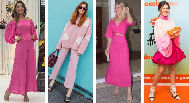 Famosas vestem rosa (Fotos: Instagram/Reprodução - Patricia Devoraes/AgNews)