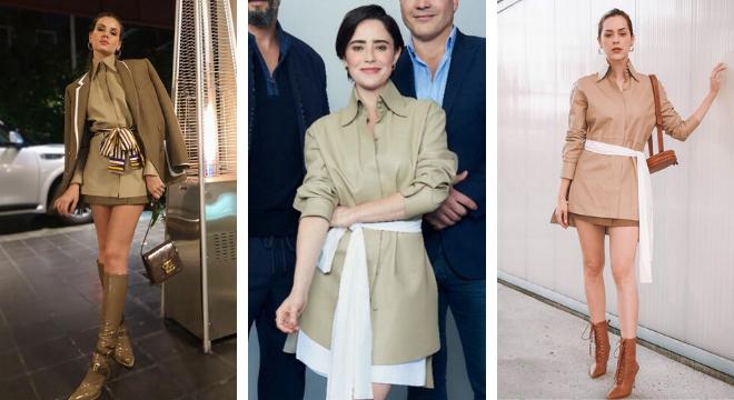 Coincidência fashion das famosas (Fotos: Instagram/Reprodução)