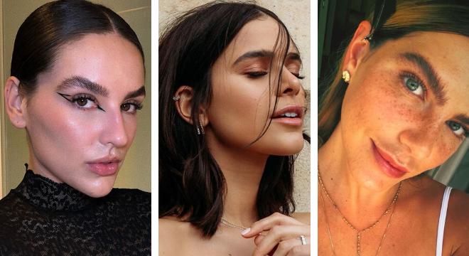 Kéfera, Bruna Marquezine e Mariana Goldfarb (Fotos: Instagram/Reprodução)