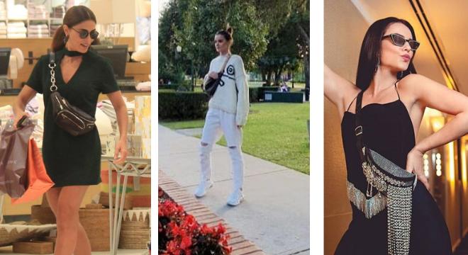 Juliana Paes, Camila Queiroz e Paolla como Vivi Guedes (Fotos> AgNews/Reprodução/Instagram)
