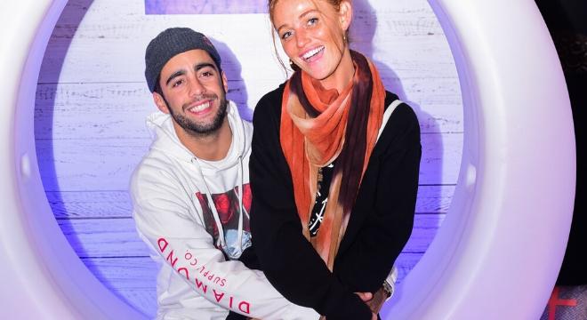 Pedro Scooby e Cintia Dicker (Foto: Leo Franco/AgNews)