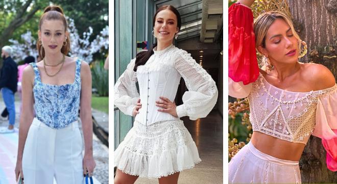 Marina Ruy Barbosa, Paolla Oliveira e Giovanna Ewbank (Fotos: AgNews/Reprodução/Instagram)