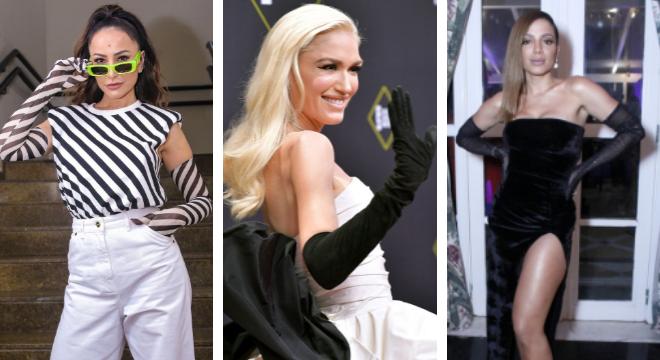 Sabrina, Gwen Stefanni e Anitta (Fotos: Instagram/E!Entertainement/AgNews)