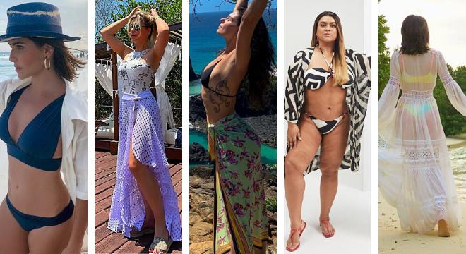 Famosas apostam em saídas de praia estilosas (Fotos: Instagram/Reprodução)