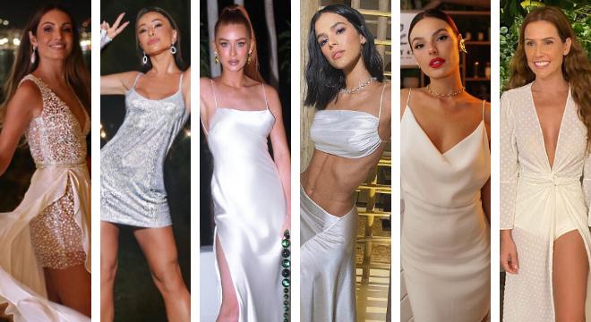 Looks das famosas no Réveillon 2020 (Fotos: Reprodução/Instagram)