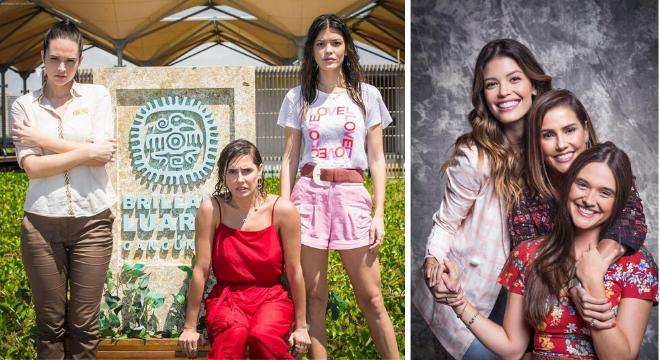 """Vitória Strada, Deborah Secco e Juliana Paiva em """"Salve-se Quem Puder""""(Reprodução/Instagram/@salvesequempudertv)"""