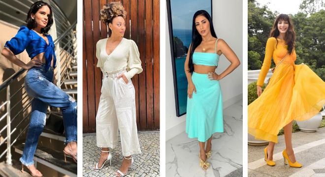 Famosas criam looks monocromáticos com a cores do ano (Reprodução/Instagram)