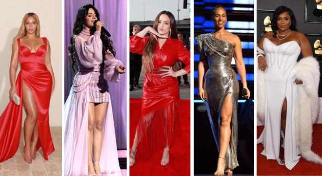 Famosas no Grammy Awards 2020 (Reprodução/Instagram)