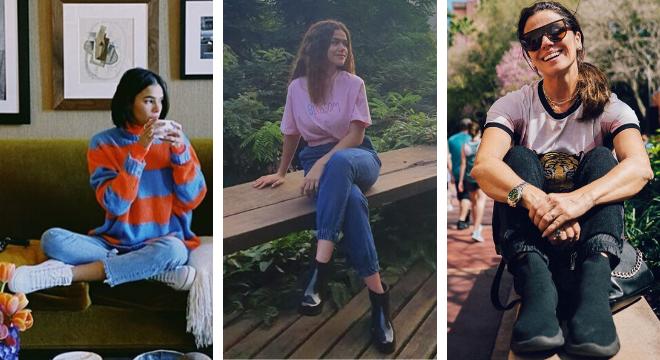Estilo das famosas (Fotos: Instagram/Reprodução)