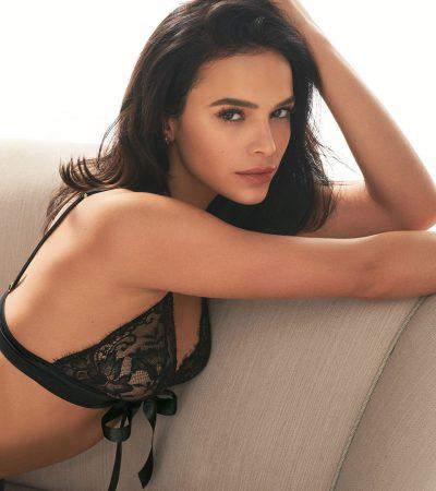 Dia dos Namorados: Marquezine posa sensual em fotos de lingerie