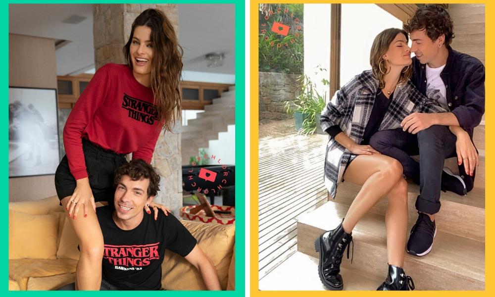 Isabeli Fontana e Di Ferrero (Fotos: @riachuelo/Instagram/Reprodução)