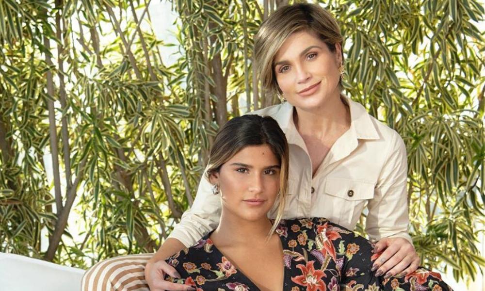 Flávia Alessandra e Giulia Costa (Foto: Instagram/Reprodução)