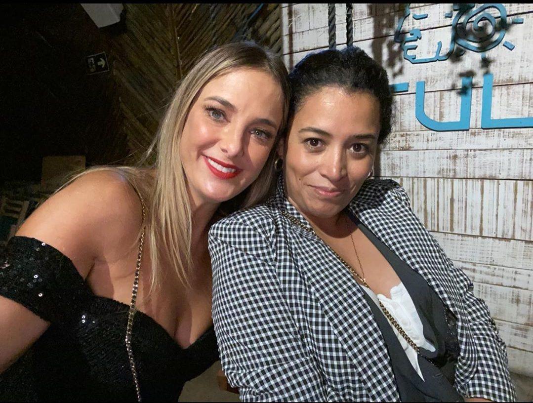 Ticiane Pinheiro e Tâmara Guzman (Foto: Reprodução/Instagram/@ticipinheiro)