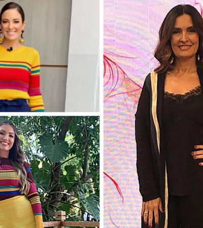 Mais lidas: lição fashion de Fátima; Tici e Poeta de home office