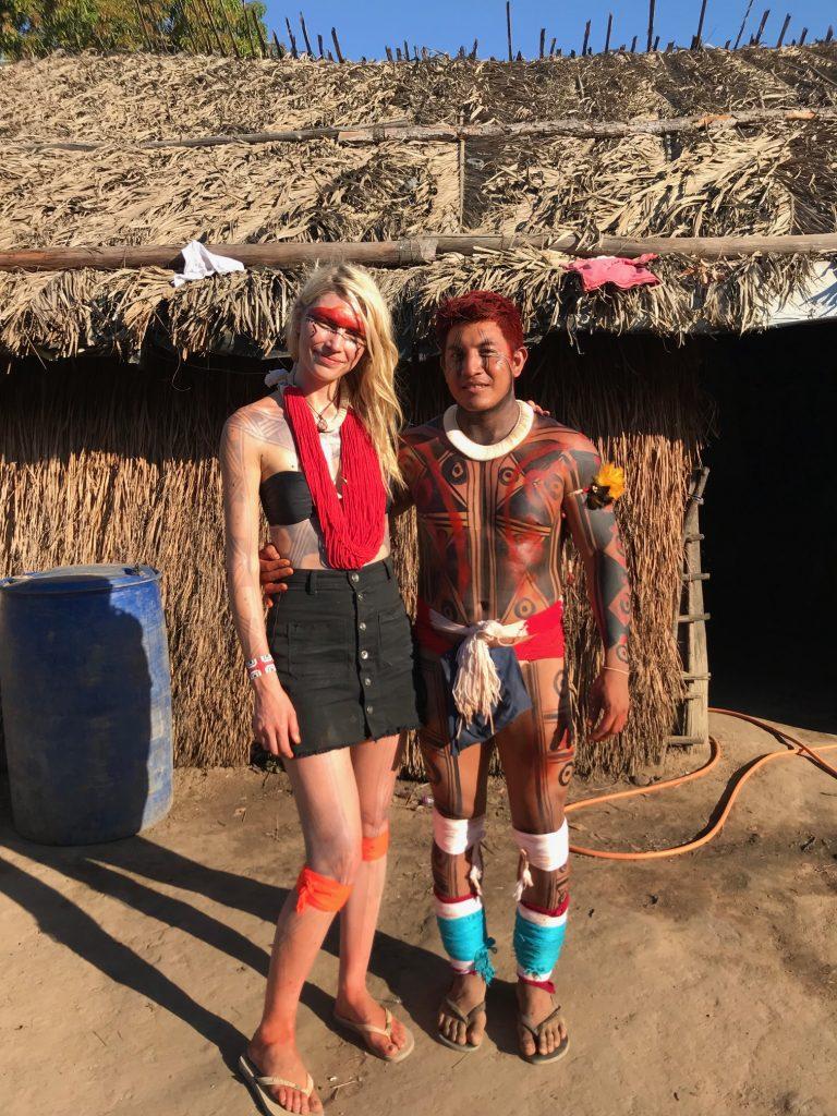 Aline Weber e Pigma Amary (Foto: Divulgação)