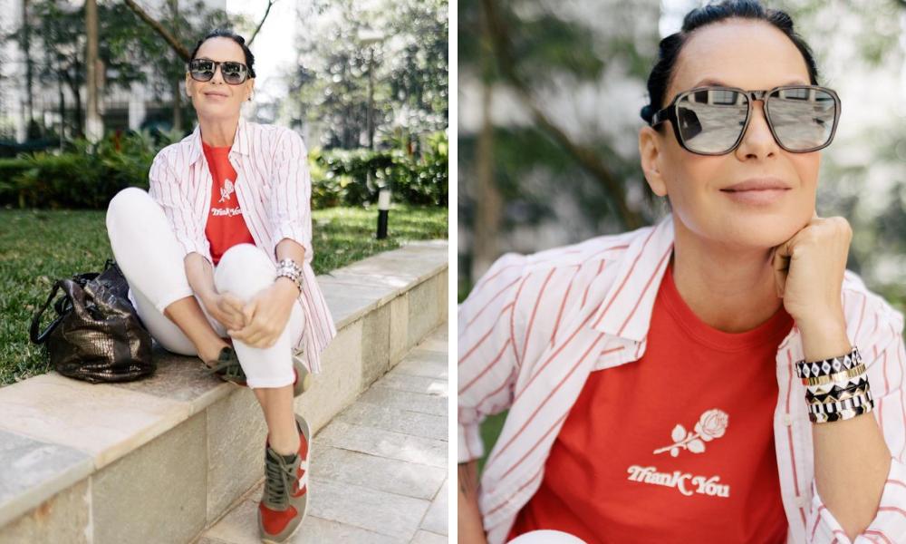 Carolina Ferraz (Foto: @carolinaferrazoficial/Instagram/Reprodução)