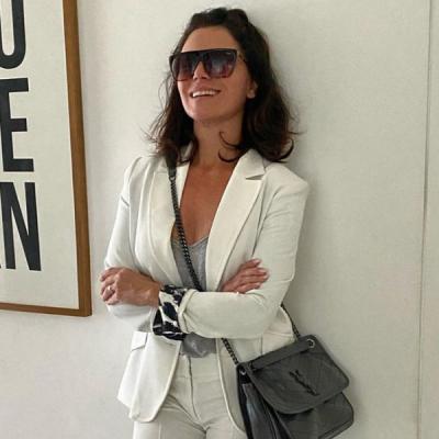Giovanna Antonelli prova ar fashion de terninho com tênis
