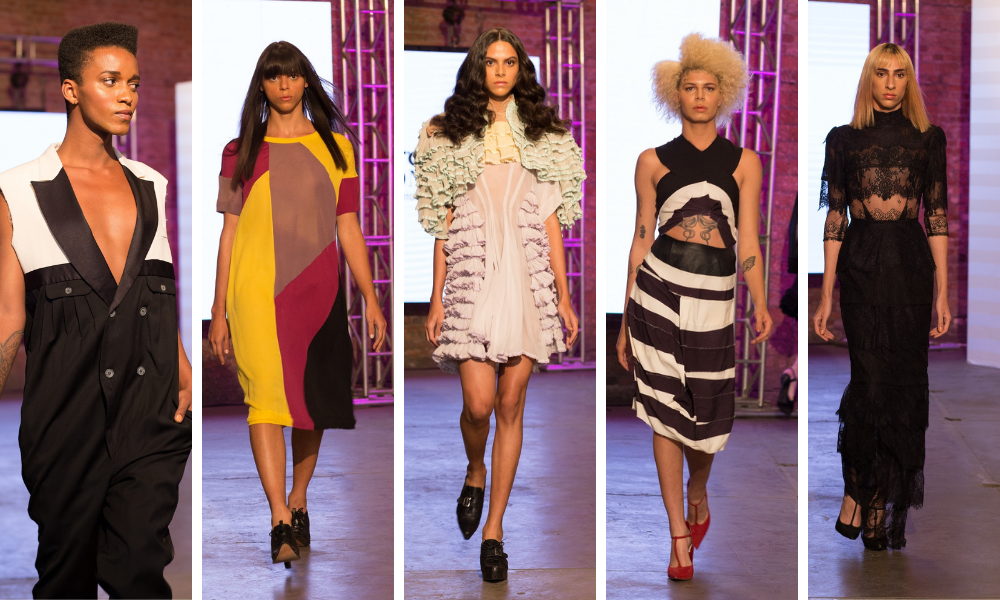 """Finalistas do programa """"Born To Fashion"""" desfilam peças de Herchcovitch (Fotos: Divulgação)"""