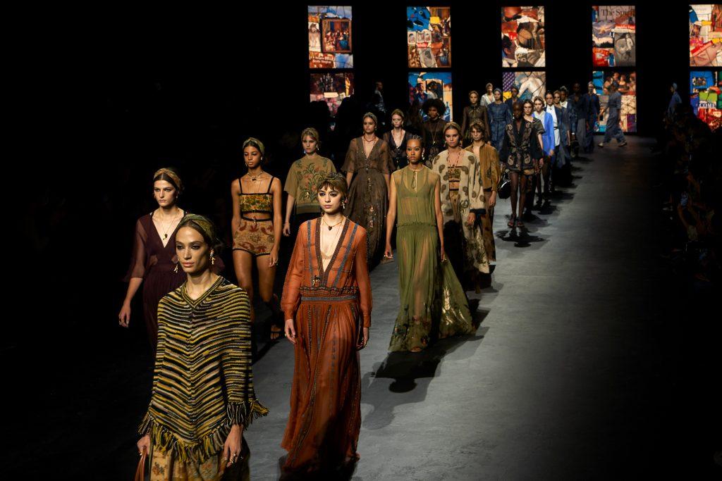 Desfile Dior primavera-verão 2021 em Paris - Foto: Divulgação