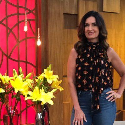 Inteligência fashion: Fátima Bernardes repete sandália amarela